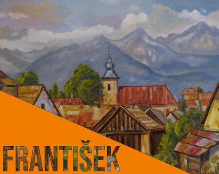 František Žoldák: Zátišia a krajiny
